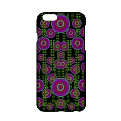 Black Lotus Night In Climbing Beautiful Leaves Apple Iphone 6/6s Hardshell Case