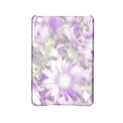 Romantic Pastel Floral,lilac Ipad Mini 2 Hardshell Cases by MoreColorsinLife