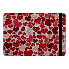 Sparkling Hearts, Red Samsung Galaxy Tab Pro 10 1  Flip Case by MoreColorsinLife