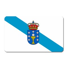 Flag Of Galicia Magnet (rectangular) by abbeyz71