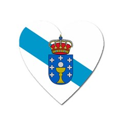 Flag Of Galicia Heart Magnet by abbeyz71