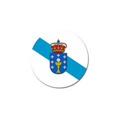 Flag Of Galicia Golf Ball Marker (10 Pack)