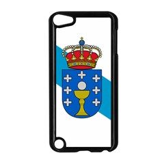 Flag Of Galicia Apple Ipod Touch 5 Case (black)