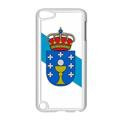 Flag Of Galicia Apple Ipod Touch 5 Case (white) by abbeyz71