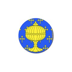 Banner Of Arms Of Kingdom Of Galice After Doetecum Golf Ball Marker (10 Pack) by abbeyz71