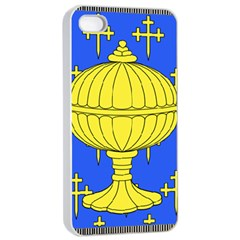 Banner Of Arms Of Kingdom Of Galice After Doetecum Apple Iphone 4/4s Seamless Case (white) by abbeyz71