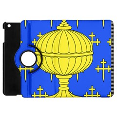 Banner Of Arms Of Kingdom Of Galice After Doetecum Apple Ipad Mini Flip 360 Case by abbeyz71