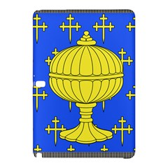 Banner Of Arms Of Kingdom Of Galice After Doetecum Samsung Galaxy Tab Pro 12 2 Hardshell Case by abbeyz71