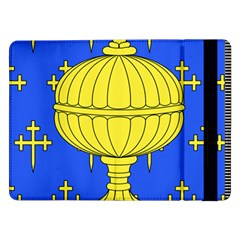 Banner Of Arms Of Kingdom Of Galice After Doetecum Samsung Galaxy Tab Pro 12 2  Flip Case by abbeyz71