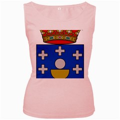 Coat Of Arms Of Galicia Women s Pink Tank Top by abbeyz71