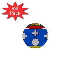 Coat Of Arms Of Galicia 1  Mini Buttons (100 Pack)  by abbeyz71