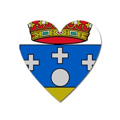 Coat Of Arms Of Galicia Heart Magnet by abbeyz71