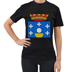Coat Of Arms Of Galicia Women s T Shirt (black)