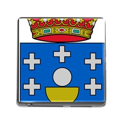 Coat Of Arms Of Galicia Memory Card Reader (square 5 Slot)