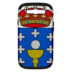 Coat Of Arms Of Galicia Samsung Galaxy S Iii Hardshell Case (pc+silicone)