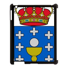 Coat Of Arms Of Galicia Apple Ipad 3/4 Case (black) by abbeyz71