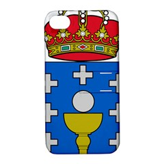 Coat Of Arms Of Galicia Apple Iphone 4/4s Hardshell Case With Stand