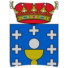 Coat Of Arms Of Galicia Back Support Cushion by abbeyz71