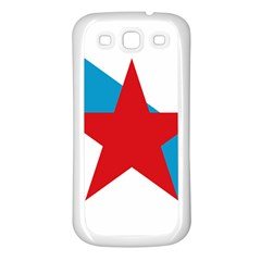 Estreleira Flag Samsung Galaxy S3 Back Case (white)