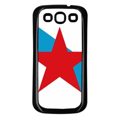 Estreleira Flag Samsung Galaxy S3 Back Case (black) by abbeyz71
