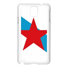 Estreleira Flag Samsung Galaxy Note 3 N9005 Case (white) by abbeyz71
