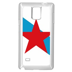Estreleira Flag Samsung Galaxy Note 4 Case (white) by abbeyz71