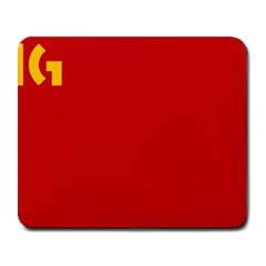 Confederación Intersindical Galega Flag Large Mousepads by abbeyz71