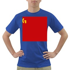 Confederaci¨?n Intersindical Galega Flag Dark T Shirt