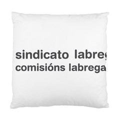 Sindicato Labrego Galego Comisi¨?ns Labregas Logo Standard Cushion Case (two Sides)