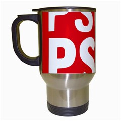 Socialists  Party Of Galicia Logo Travel Mugs (white) by abbeyz71