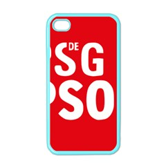 Socialists  Party Of Galicia Logo Apple Iphone 4 Case (color)