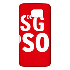Socialists  Party Of Galicia Logo Samsung Galaxy S6 Hardshell Case