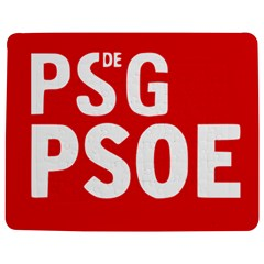 Socialists  Party Of Galicia Logo Jigsaw Puzzle Photo Stand (rectangular) by abbeyz71