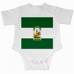 Flag Of Andalusia Infant Creepers