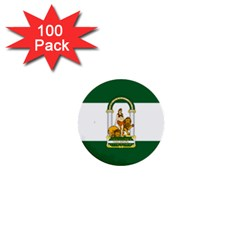Flag Of Andalusia 1  Mini Buttons (100 Pack)  by abbeyz71