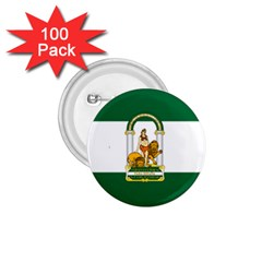 Flag Of Andalusia 1 75  Buttons (100 Pack)