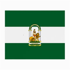 Flag Of Andalusia Small Glasses Cloth