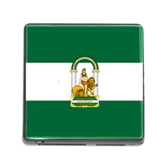 Flag Of Andalusia Memory Card Reader (square 5 Slot)