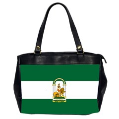 Flag Of Andalusia Oversize Office Handbag (2 Sides)