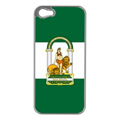 Flag Of Andalusia Apple Iphone 5 Case (silver)