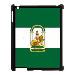 Flag Of Andalusia Apple Ipad 3/4 Case (black) by abbeyz71