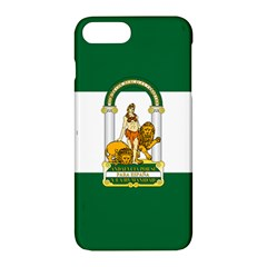 Flag Of Andalusia Apple Iphone 7 Plus Hardshell Case by abbeyz71
