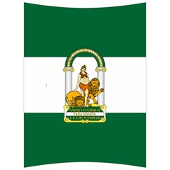 Flag Of Andalusia Back Support Cushion by abbeyz71