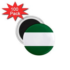 Flag Of Andalusia 1 75  Magnets (100 Pack)  by abbeyz71