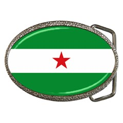 Flag Of Andalusian Nation Party Belt Buckles by abbeyz71