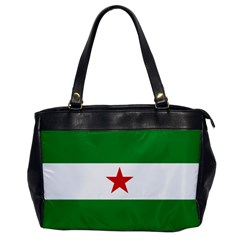 Flag Of Andalusian Nation Party Oversize Office Handbag by abbeyz71