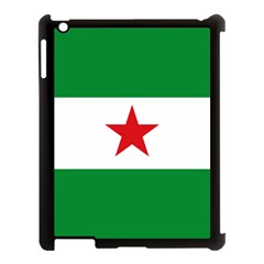 Flag Of Andalusian Nation Party Apple Ipad 3/4 Case (black) by abbeyz71