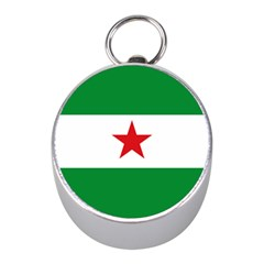 Flag Of Andalusian Nation Party Mini Silver Compasses by abbeyz71