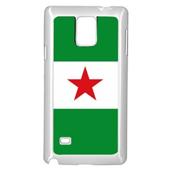 Flag Of Andalusian Nation Party Samsung Galaxy Note 4 Case (white) by abbeyz71