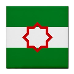 Nationalist Andalusian Flag Tile Coasters by abbeyz71